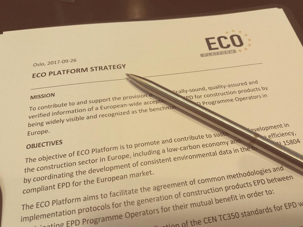 ECO Platform Strategy