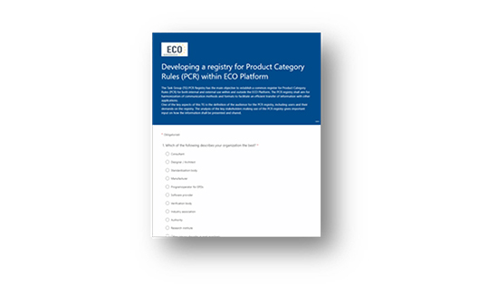 Latest news on the work with the PCR Registry