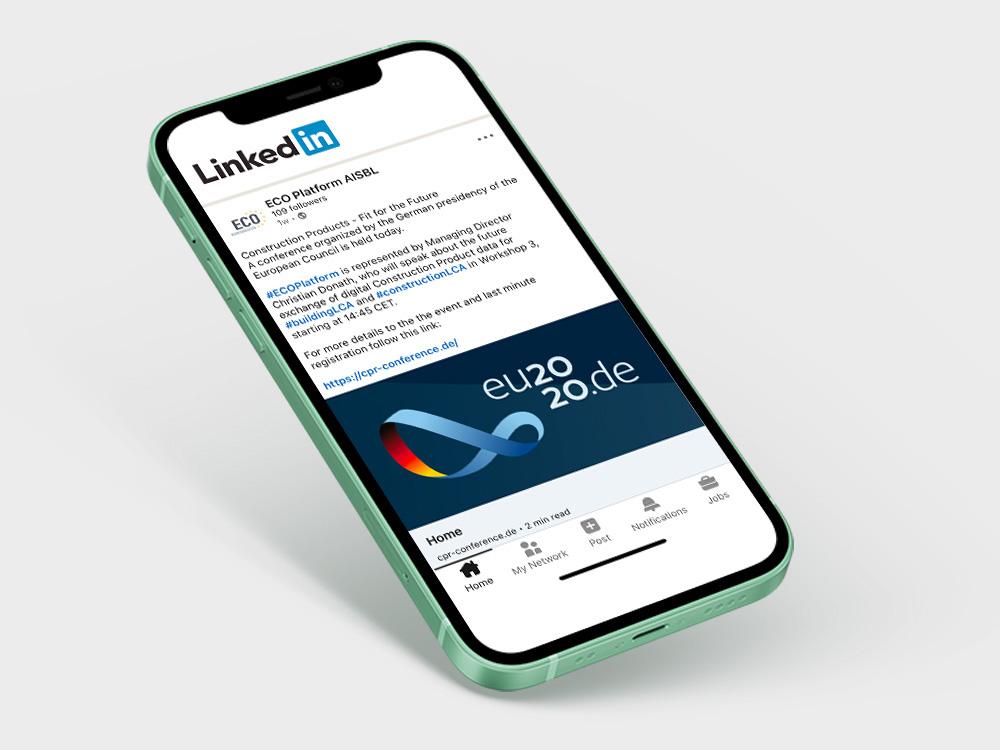 ECO Platform - LinkedIn Profile